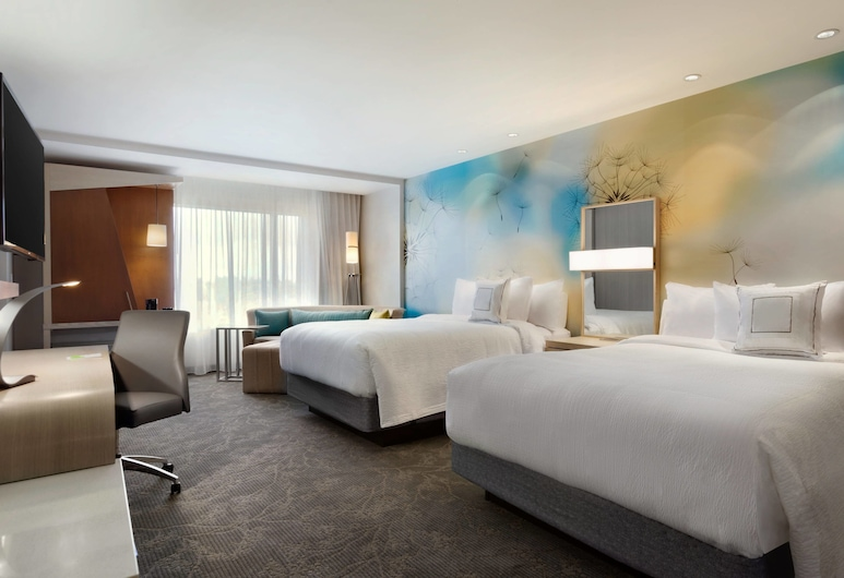 Courtyard by Marriott Toronto Mississauga/West, Mississauga, Studio, 2 Queen Beds, Non Smoking, Guest Room