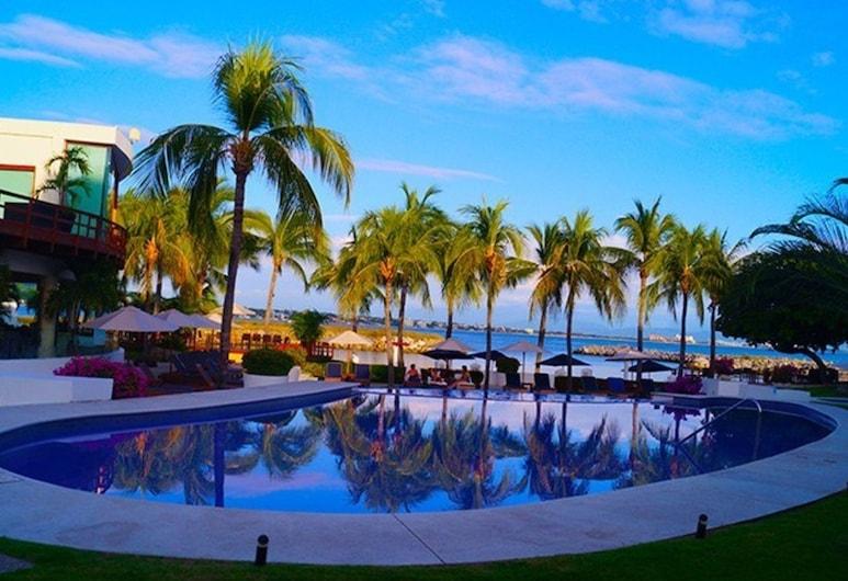 Villa Vallarta Gardens Stephanie by RedAwning, La Cruz de Huanacaxtle, בריכה חיצונית