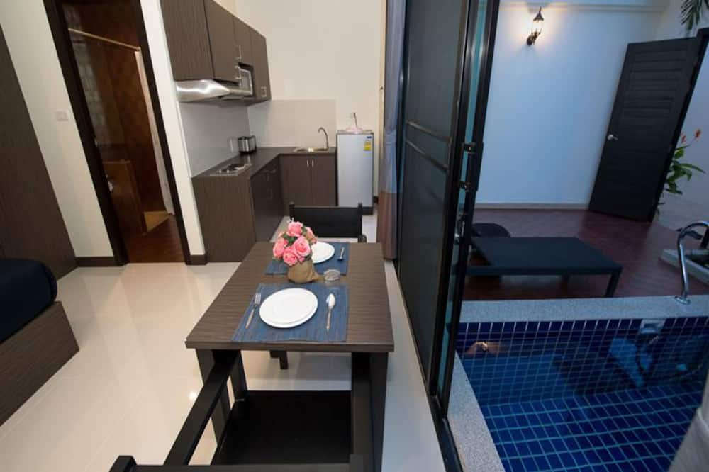 Willa, prywatny basen (Double Bed or Twin Bed) - Wyżywienie w pokoju