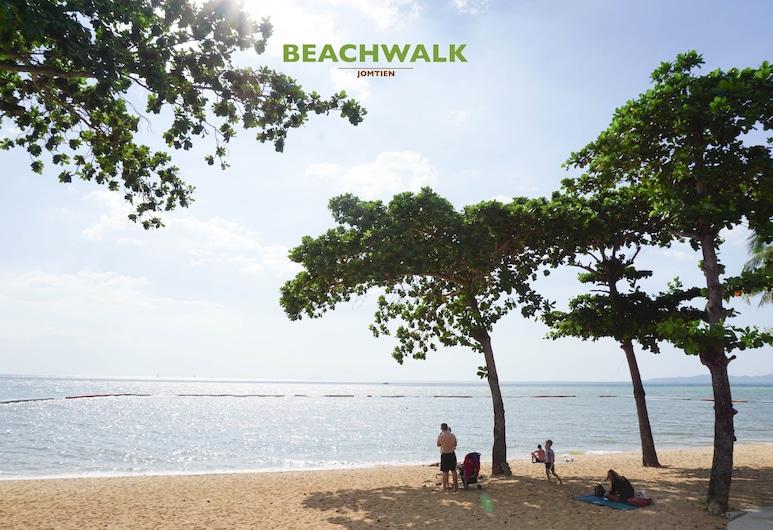 Beachwalk Jomtien, Pattaya, Beach