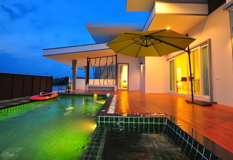 Jira Pool Villa, Hua Hin, Utendørsbasseng