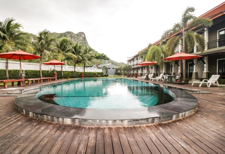 OYO 256 P' Private Resort Cha Am, Cha-am, Kültéri medence