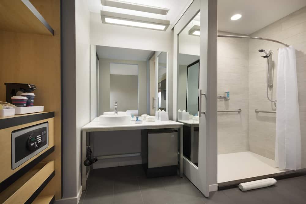 aloft, Kamer, 1 kingsize bed, niet-roken - Badkamer