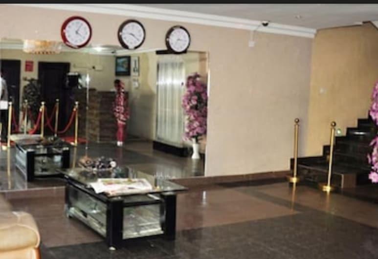 Keviz Hotel, Lagos, Sala de estar en el lobby