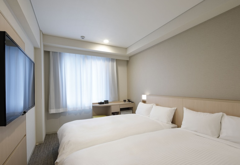 โซเทตสึ เฟรซา อินน์ เกียวโต-ฮาชิโจกุชิ, Kyoto, ห้องทวิน, ปลอดบุหรี่, ห้องพัก