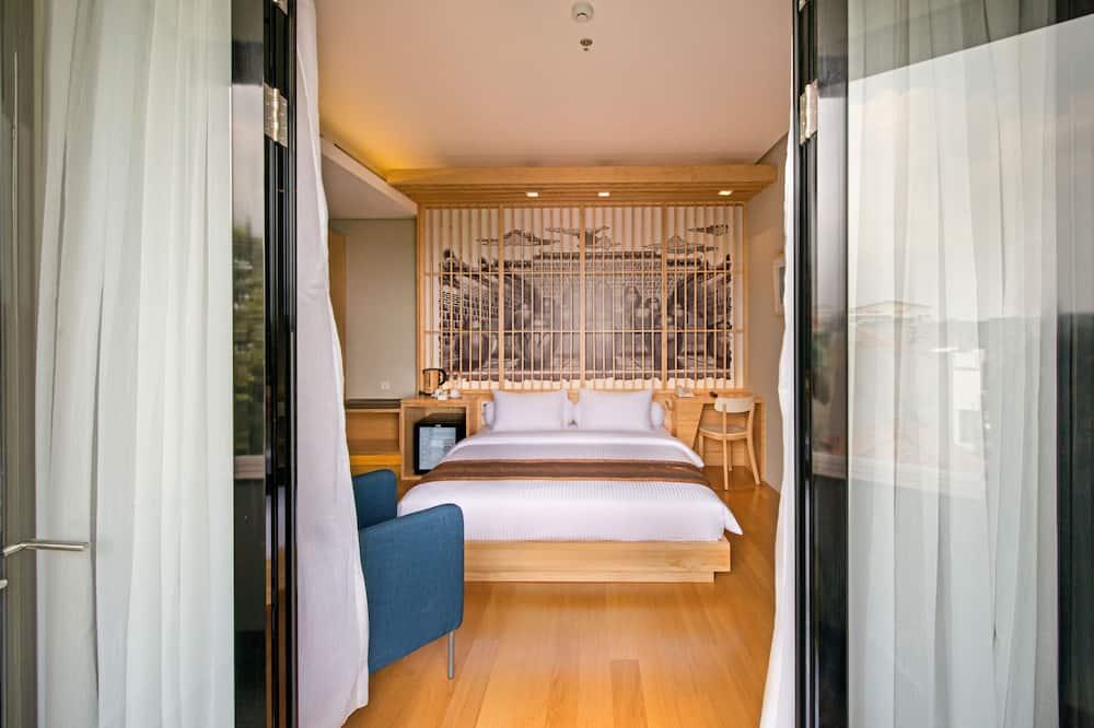חדר דה-לוקס, מרפסת - חדר אורחים