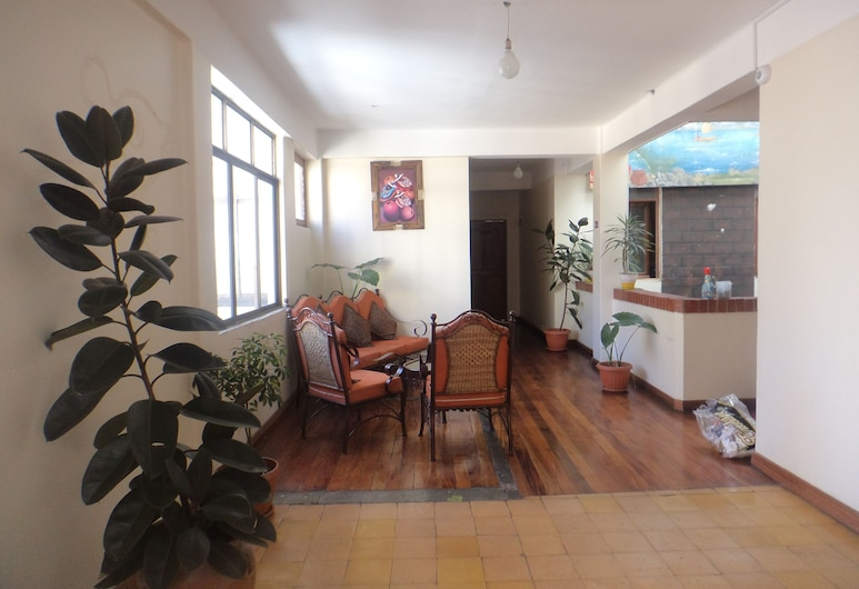 Hotel Avenida, Λα Παζ, Εσωτερική είσοδος