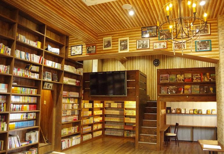 大阪床與圖書館旅館 - 芥末青年旅舍, 大阪, 大堂酒廊