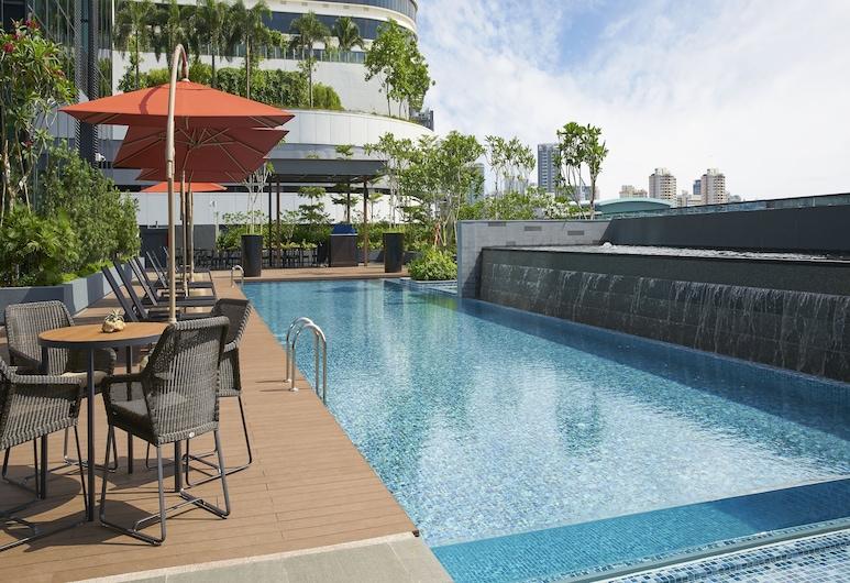 パークホテルファーラーパーク, シンガポール, 屋外プール