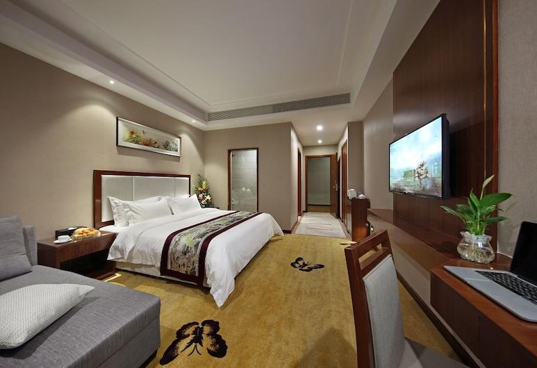 Shenzhen Hong Li Lai Hotel, Shenzhen, Deluxe Single Room, Guest Room