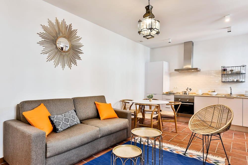 Superior Apartment (4 adults) - Living Room