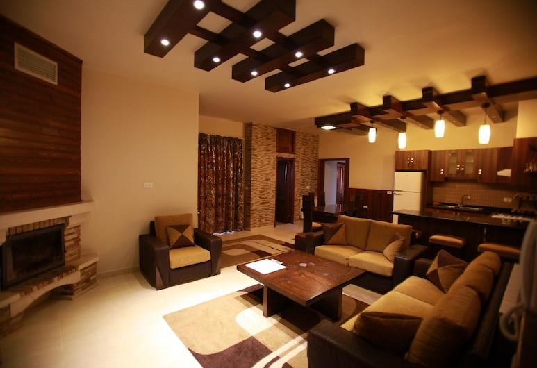 Cedars Palace, Al Arz, Apartment, 3Schlafzimmer, Bergblick, Wohnzimmer
