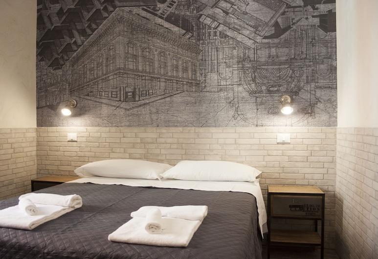 阿戈拉酒店, 羅馬, 雙人或雙床房, 客房