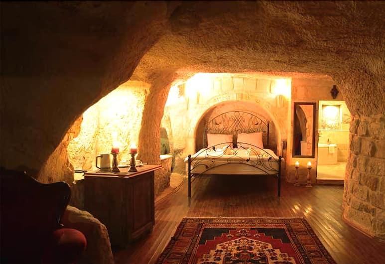 Roca Cappadocia , Ургуп, Двухместный номер «Делюкс» с 1 двуспальной кроватью (Deluxe Cave Room), Номер