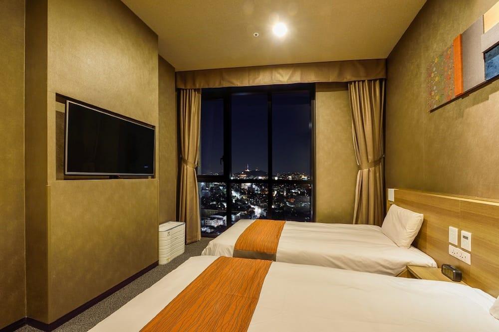 Habitación con 2 camas individuales (A la carte breakfast) - Vista a la ciudad