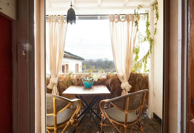 Liegenschaft Guesthouse, Oestrich-Winkel, Habitación doble, 1 habitación, Balcón