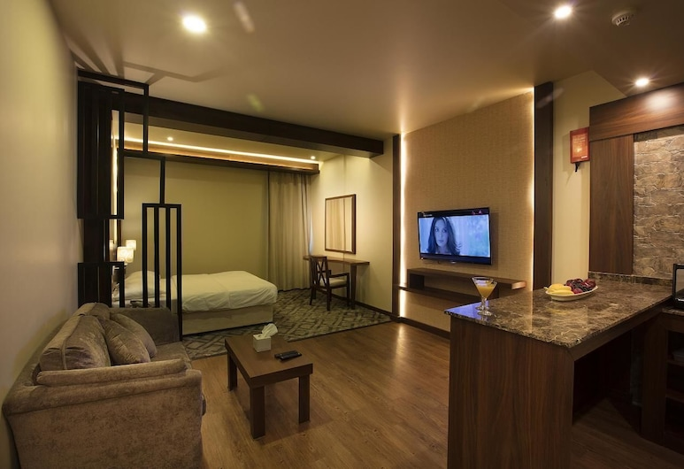 Lily Hotel Suite Mubarraz, Al-Hofuf, Svit Deluxe, Rum