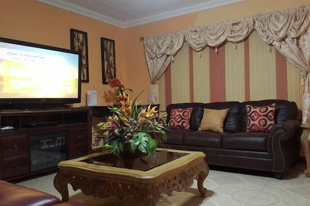 Casa de lujo, 3 habitaciones, cocina, vista al mar - Sala de estar