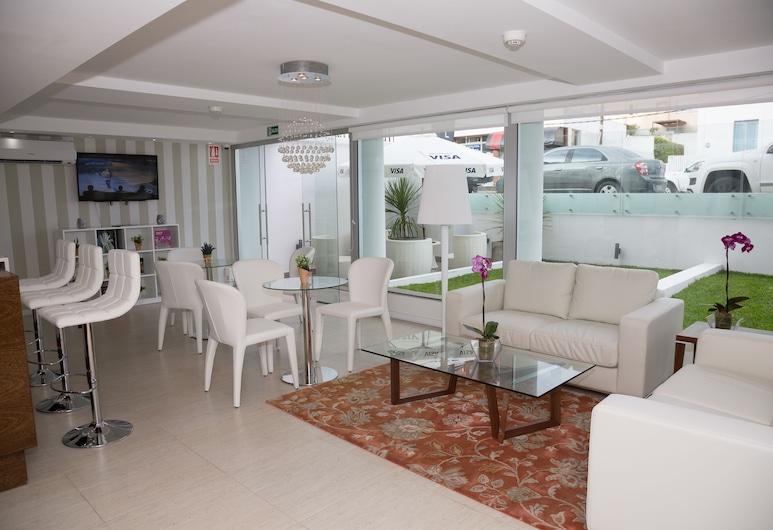 Sea View Boutique Hotel, Punta del Este, Ingresso interno