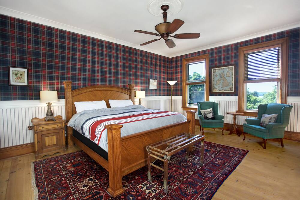 Quarto Duplo Royal, 1 cama king-size, Varanda (Great Britain Room) - Área de Estar