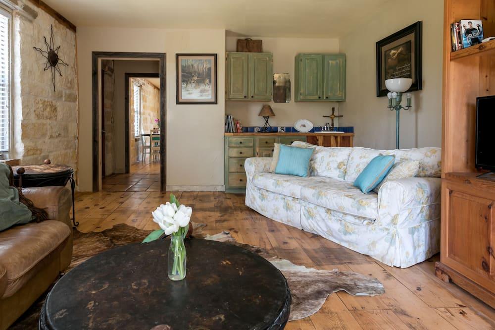 Basic Δωμάτιο, 2 Υπνοδωμάτια (2H Rock Haus) - Καθιστικό
