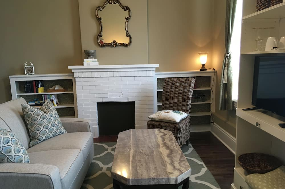 Johnina Suite, 1 Queen Bed - Obývacie priestory