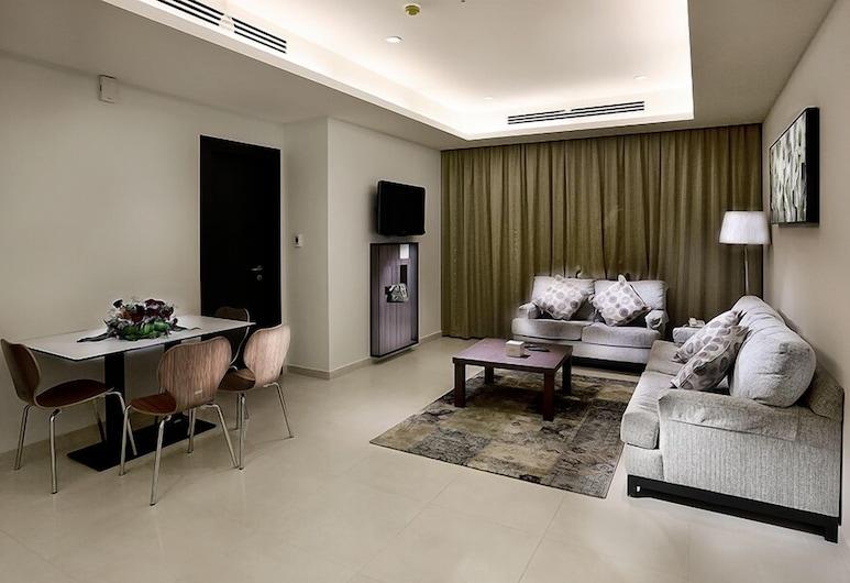 Grand Lily Hotel Suites, Al-Hofuf, Deluxe Suite, Living Room