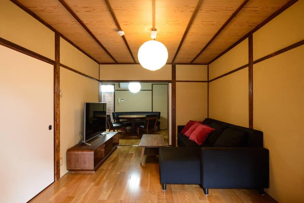 Traditional Σπίτι σε Συγκρότημα Κατοικιών, Περισσότερα από 1 Κρεβάτια, Μη Καπνιστών (Aki House) - Καθιστικό