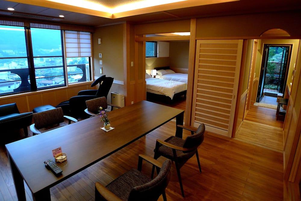 Suite (Japanese Western, Open Air Bath) - Restauration dans la chambre
