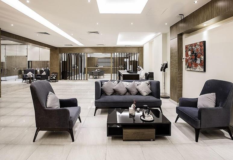 Lily Hotel Suite Hofuf, Al-Hofuf, Sittområde i lobbyn
