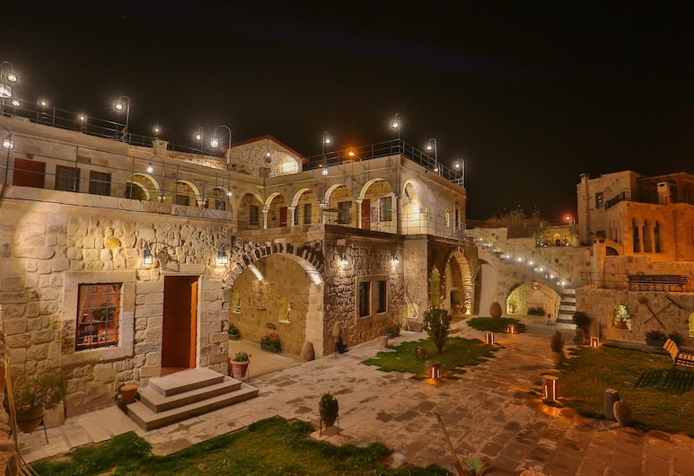 Acropolis Cave Suite, Urgup, Hotel Front – Evening/Night