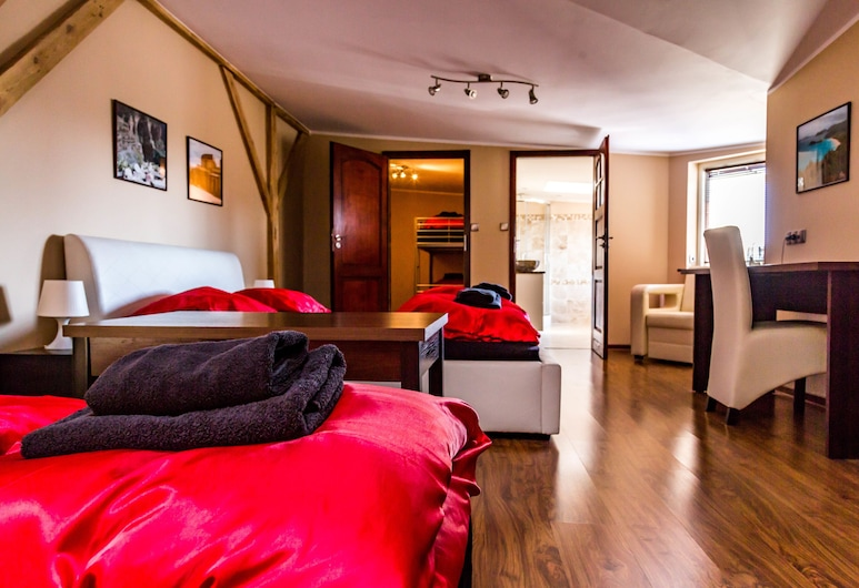 SG Apartments, Szczecin, Penthouse, Quarto
