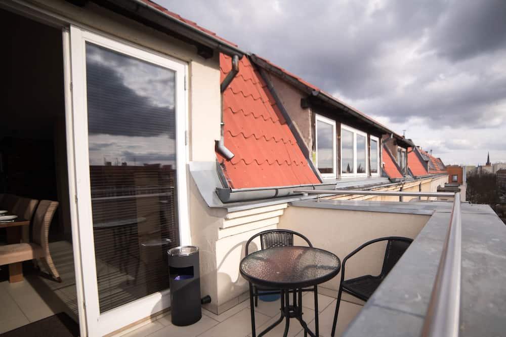 Mansarda - Balkonas