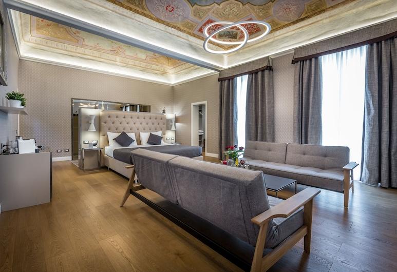 Martelli 6 Suites and Apartments, Florencia, Suite presidencial, Habitación