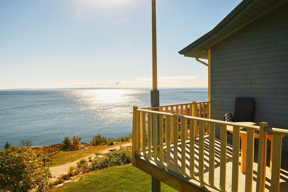 Soukromý byt, více lůžek, balkon, výhled na řeku - Balkón