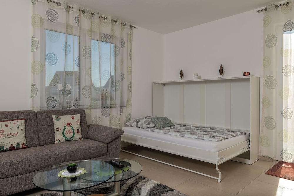 Lägenhet - 1 sovrum - terrass - Vardagsrum