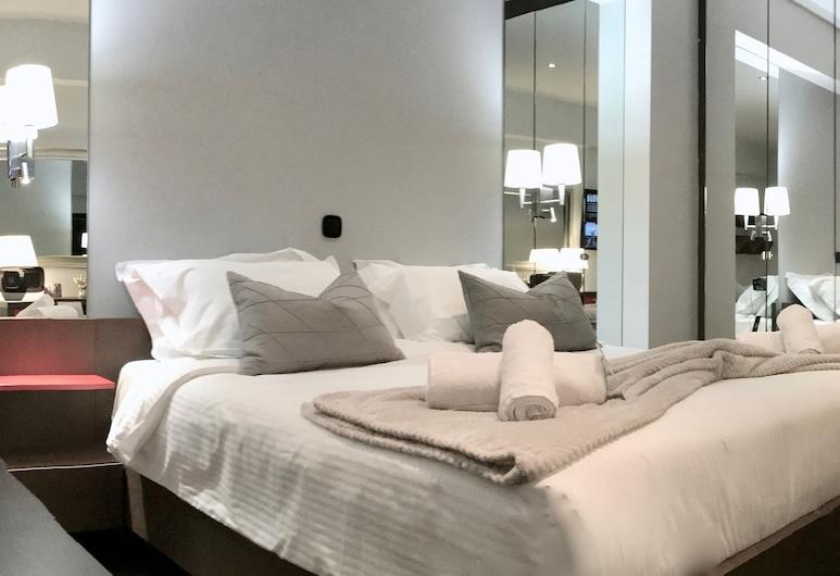 Athens Luxury Suites, Atėnai, Žemesnės liukso klasės studija, Svečių kambarys