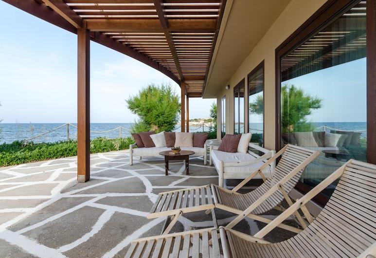 Kouvohori Villas Crete, Gouves, Vila, 5 ložnic, výhled na moře, u pláže, Terasa