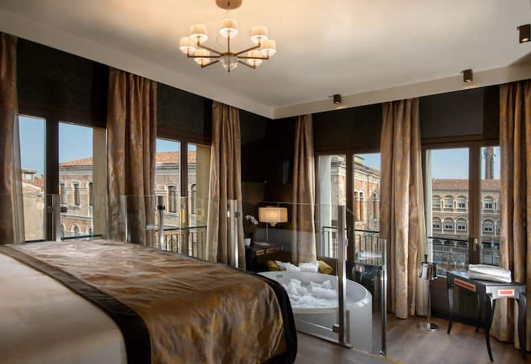 威尼斯宮殿酒店, 威尼斯, 普通套房, 轉角, 客房