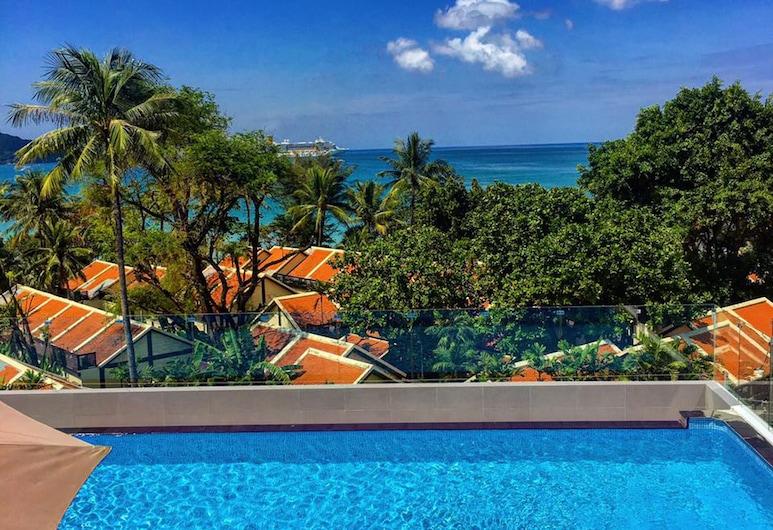 Araya Beach Hotel Patong, Patong, View from Hotel