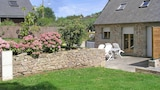 Picture of Lovely stone house with terrace in Plehedel