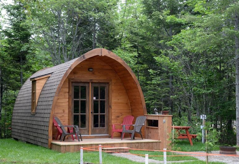 Les Prets a Camper du Camping Tadoussac, Tadoussac, Fachada