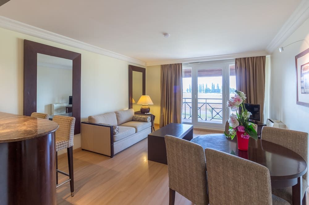 Külaliskorter, 1 magamistoaga, erivajadustele kohandatud - Lõõgastumisala