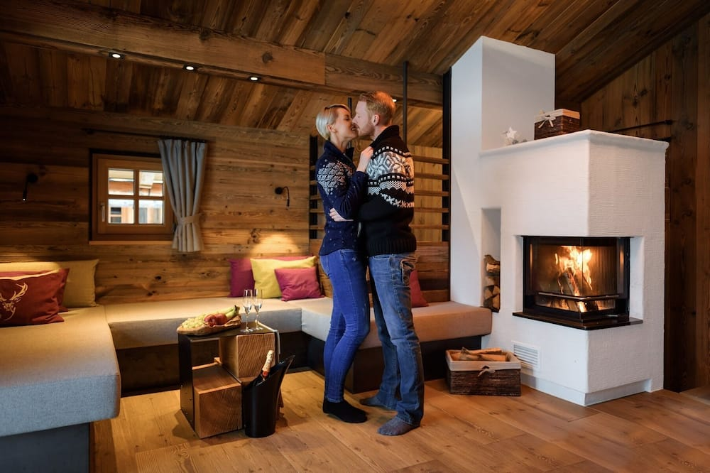 Chalet, 2 Bedrooms, Sauna (excl. cleaning fee 190.00 EUR) - In-Room Dining