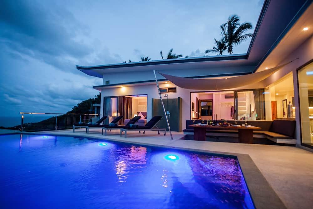 Villa, 3 Bedrooms, Sea View, Sea Facing - Outdoor Pool