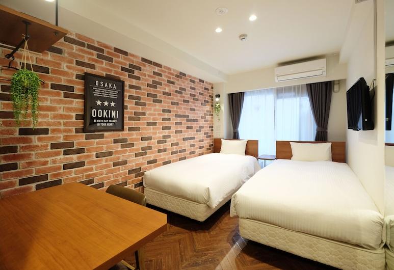 Ookini Hotels Ota-road Apartment, Osaka, Twin Room, Room