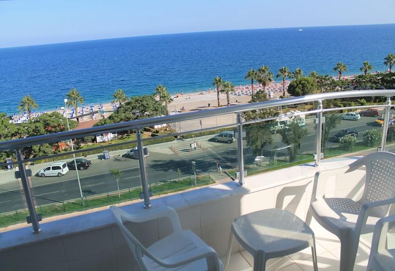 Olbia Residence Hotel, Konyaaltı, Apartment, 1 Schlafzimmer, Meerblick, Zimmer