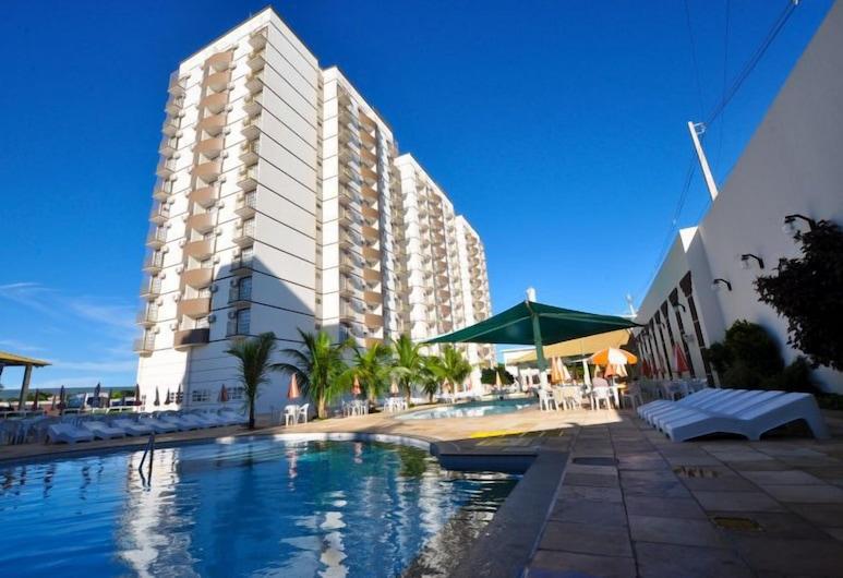 卡達斯街羅馬尊爵公寓酒店, 新卡爾迪斯, 室外泳池