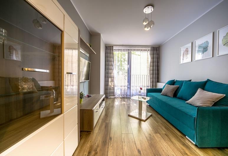 FriendHouse Apartments – Krowoderska, คราคูฟ, อพาร์ทเมนท์, 1 ห้องนอน, ระเบียง, ห้องนั่งเล่น