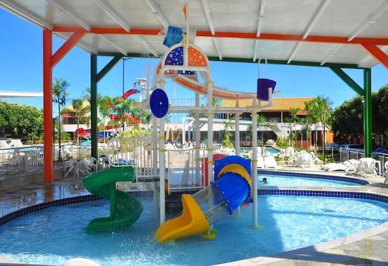 卡達斯街羅馬之花公寓酒店, 新卡爾迪斯, 兒童遊樂區 - 室內